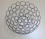 Ciotola di frutta del metallo di stile artistico