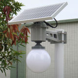 Lumière à bille solaire avec micro capteur