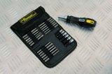 26PCS multifunctionele Hulpmiddelen Cr-V van de Hand de Geplaatste Schroevedraaier & de Bits van de Pal van het Staal