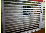 Puerta transparente del garage de la puerta del policarbonato de la elevación vertical de cristal de la puerta (Hz-TD0616)