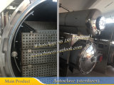 Sterilizer Dn1100X2000 da pressão traseira do Sterilizer do alimento enlatado