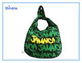 Sacchetto della cartella della ragazza di disegno della Giamaica di due formati