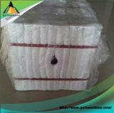 Module plié de fibre en céramique pour la cheminée
