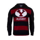 Пуловер Hoodie изготовленный на заказ рэгби печатание логоса новый для людей
