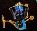 金属ボディ真鍮ギヤ権利および左手可変性の大きい力釣巻き枠