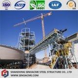 Planta de Estructura de acero pesado con Transportadores