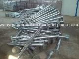 Struttura d'acciaio al suolo, parentesi solare, bullone d'ancoraggio