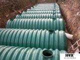 腐食性および放射性物質に使用する地下タンク