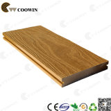 Decking plástico fireresistant do composto WPC da madeira contínua de preço de fábrica Tw-K03