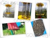 Lampe solaire de tueur de parasite/insecte utilisée dans la ferme, serre chaude, jardin, verger