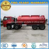 Sinotruk HOWO 8X4 20000L 하수 오물 진창 수송 트럭
