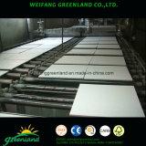 Planche de plafond en fibre minérale / Panneaux de plafond en fibre minérale / Panneau de plafond en fibre minérale, 600X600mm