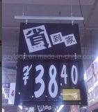 Ценники Plastic супермаркета для Promotion Display