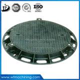 2017 최신 판매 Qt500-7 사각 또는 장방형 연성이 있는 철 맨홀 뚜껑, En124 맨홀 뚜껑, 무쇠 맨홀 뚜껑