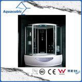Terminar el sitio de ducha automatizado del vidrio Tempered del masaje (AS-K94)
