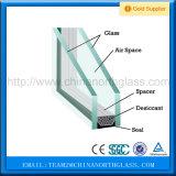 Изолированный полостью строя парник фасада стеклянный закалил