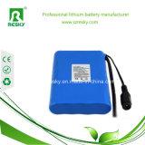 Paquete 11.1V 2600mAh 18650 de la batería de litio para las luces del LED