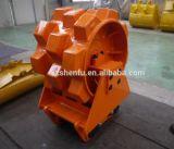 Ajustement de roue de compacteur de Sf pour le tassement de roue de l'excavatrice 20t