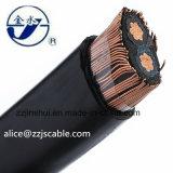 Alumínio 1*10+10mm2 XLPE concêntrico do cabo da baixa tensão