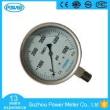 4.5 '' todo o calibre de pressão enchido glicerina de Wika do aço inoxidável