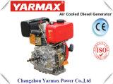 De Lucht van het Begin van de Hand van Yarmax koelde Dieselmotor Ym178f van /Vertical van de Cilinder van 4 Slag de Enige