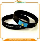 Faixa de pulso personalizada forma do silicone com presentes