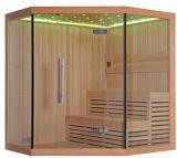 Pièce sèche superbe de sauna de type traditionnel de taille de Monalisa (M-6036)