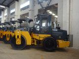 De Fabriek van de wegwals TrillingsRol van de Trommel van het Wiel van het Staal van 6 Ton de Enige (YZ6C)