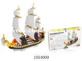 Bon synthon de bateau de pirate de jouet de Quanlity (1054007)