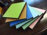 Лист слоистый пластик, изготовляемый прессованием под высоком давлением HPL/Compact Laminate/цветастый