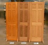 Festes Holz-Innen-/Außenschwingen-Bauholz-Tür/Bauholz-hölzerne Tür/Bauholz-Holz-Tür