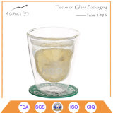 Copo de vidro do ODM/OEM colorido com alta qualidade