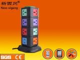 2USB 4 capas del socket vertical con el Ce Cetificate sin la maneta