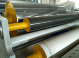 Cadena de producción adhesiva de la etiqueta adhesiva del derretimiento caliente