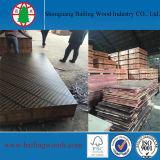 A película Phenolic enfrentou a madeira compensada estrutural do preço da placa da madeira compensada/madeira compensada enfrentada película Shuttering