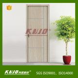 Puerta interior impermeable respetuosa del medio ambiente de WPC para el dormitorio del tocador (KM-15)