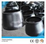 Guarniciones inconsútiles del acero de carbón del estruendo de la autógena de tope de A234wpb