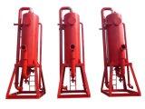 Separador de gás da lama da eficiência elevada para o campo petrolífero