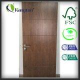 Дверь черного пожара грецкого ореха Rated деревянная, нутряная деревянная дверь (нутряная дверь)