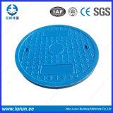 En124 FRP SMC SGS는 합성 맨홀 뚜껑을 통과했다