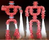 Тройник штуцеров трубы сертификата FM/UL дуктильным U-Скрепленный болтами утюгом механически для бой пожара