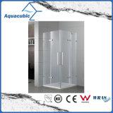Quarto de chuveiro do banheiro e cerco simples de vidro do chuveiro (AE-LFHY822)
