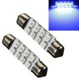 36mm 8 SMD 5050 12V Warm White LED Car Light