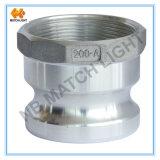 Guarnición de aluminio roscada BSPP del Camlock de la hembra del adaptador (tipo A)