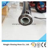 Dos capas de alambre de acero de la trenza manguera de alta presión