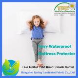 最も売れ行きの良い低刺激性の100%防水マットレスの保護装置