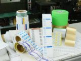 Pegamento piezosensible a base de agua usado para la escritura de la etiqueta