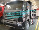 Уилер 336/371HP Myanmar Лаос тележки сброса 6X4 Sinotruk HOWO A7 10