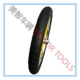 16 Inch PU Foam Tour Bicycle Tyre mit Yellow Aluminum Rim