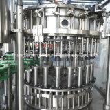 Planta que capsula del embotellamiento de agua de soda para la botella de cristal